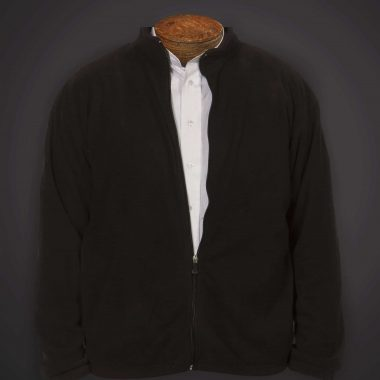 Fleece With Full Zipper Front