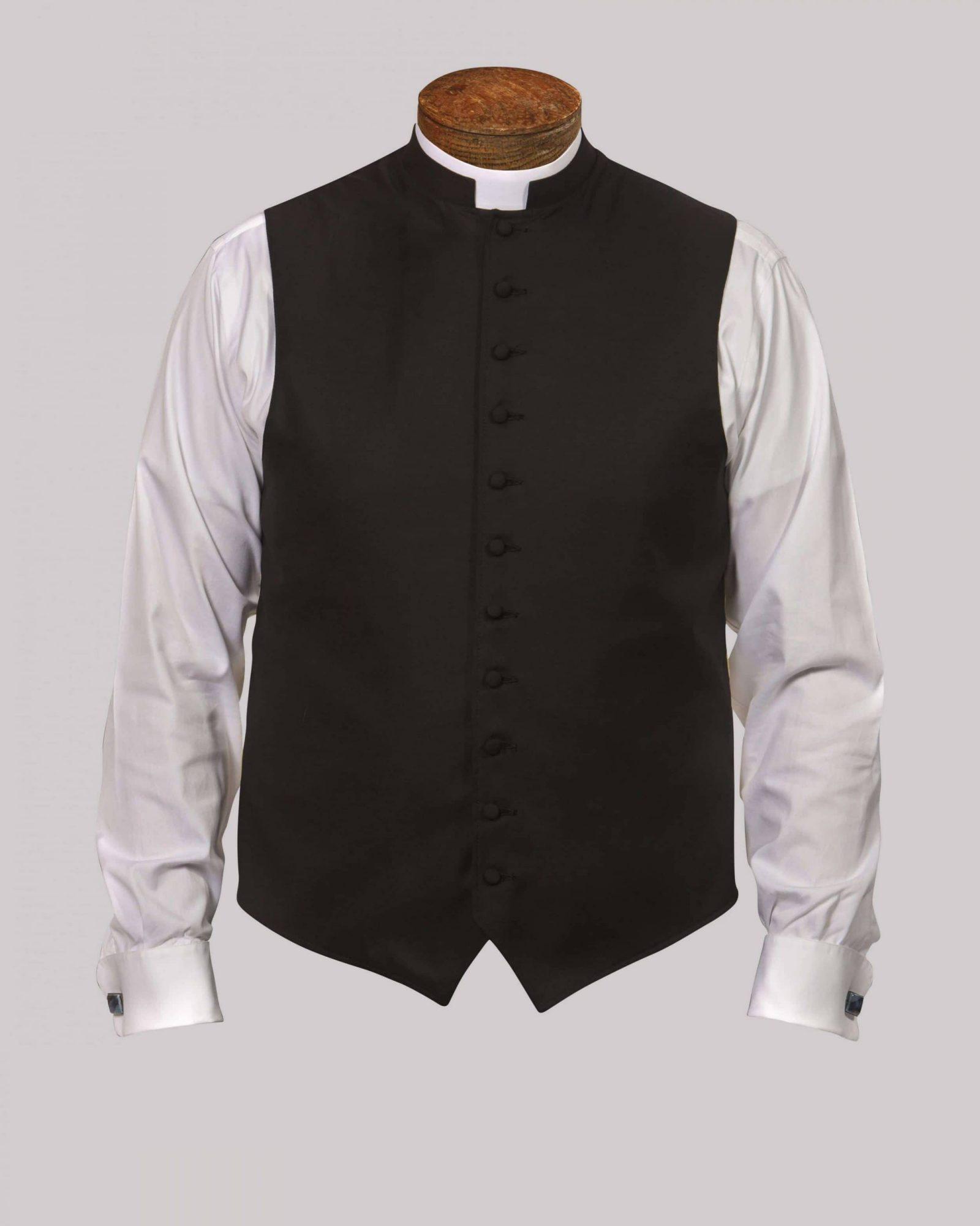Black w/Silk Button & Silk Trim - Custom