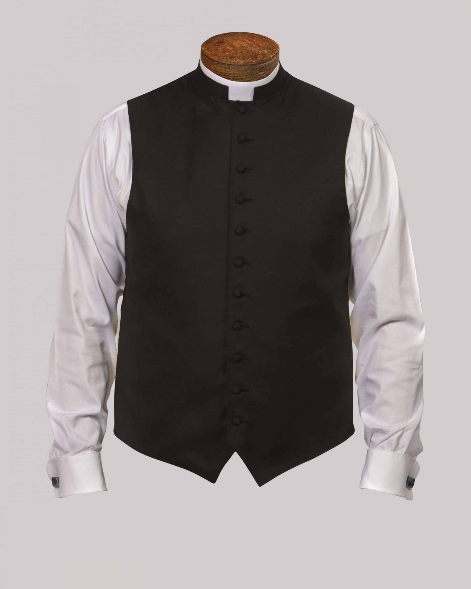 Black w/Cloth Button & No Trim - Custom
