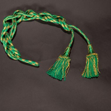 Green / Gold Roman Knot Cincture