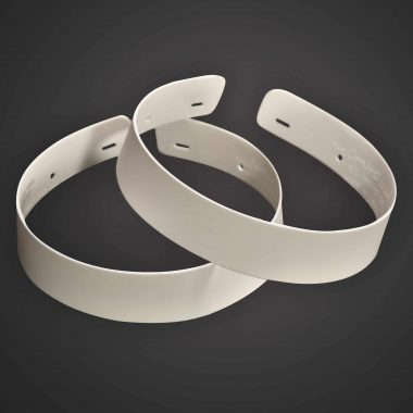Single Ply Plastic Collar - (Set of 2)