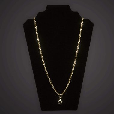 Pectoral Chain - Geo - Long - Gold Plated