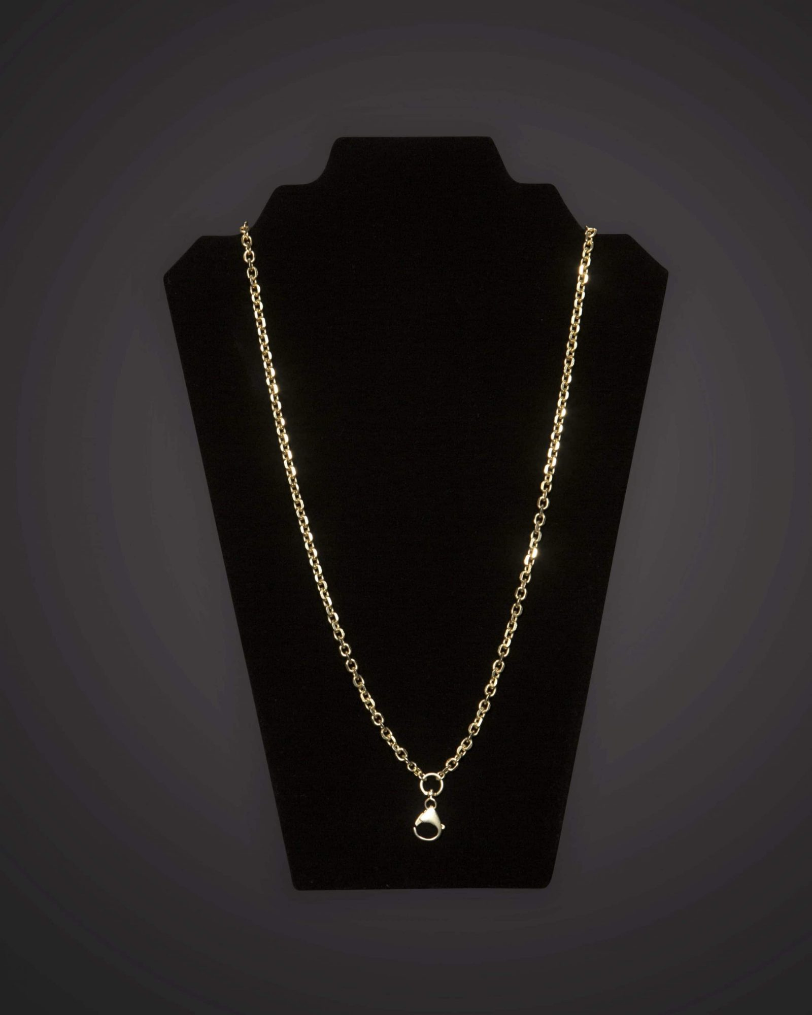 Pectoral Chain - Geo - Short - Gold Plated