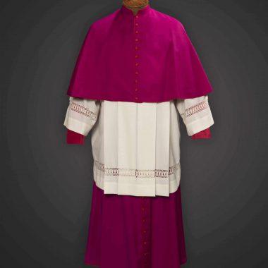 Purple Cassock / Red Trim (Prelate of Honor) - Tela